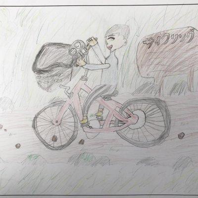 たのしいサイクリング 俱知安町立西小学校