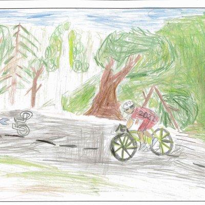 大自然を走る ニセコ町立ニセコ小学校