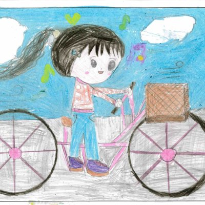 楽しいサイクリング 共和町立東陽小学校