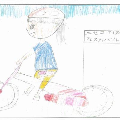 自てん車レース 共和町立東陽小学校