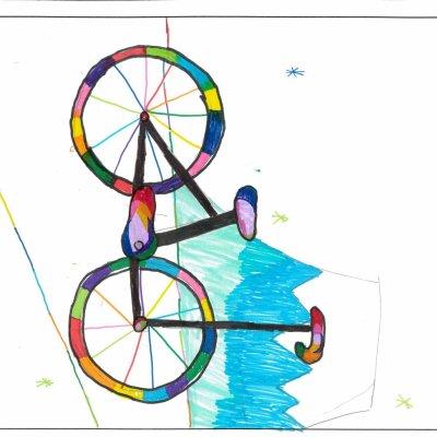 自転車 俱知安町立東小学校